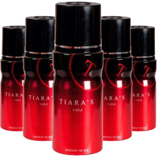 Tiaras Erkek Deodorant 150 ml x 5