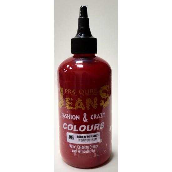 Proqure Jean Color Boya Biber Kırmızı 250 ml