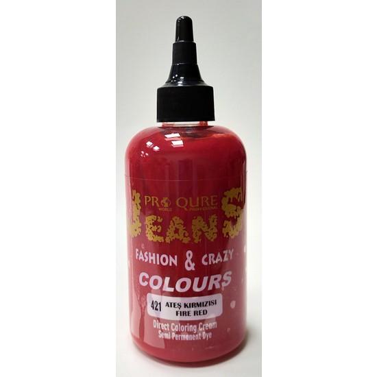 Proqure Jean Color Boya Ateş Kırmızı 250 ml
