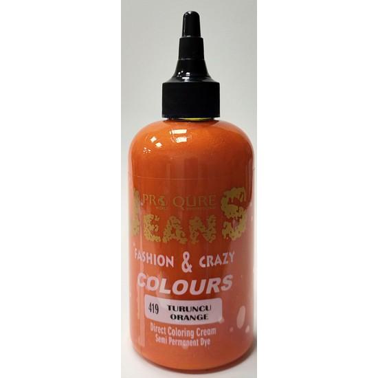 Proqure Jean Color Boya Turuncu 250 ml