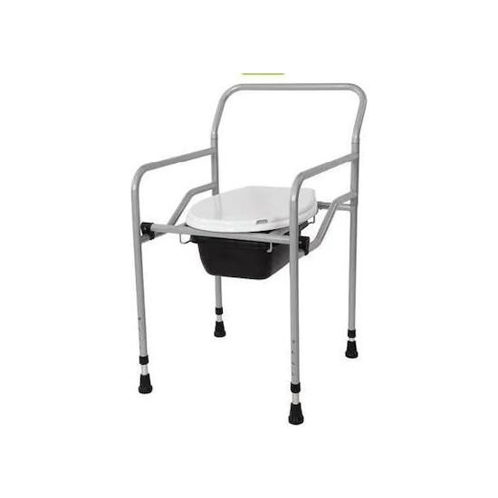 Gim Seyyar Katlanabilir Hasta Yaşlı Tuvalet Sandalyesi