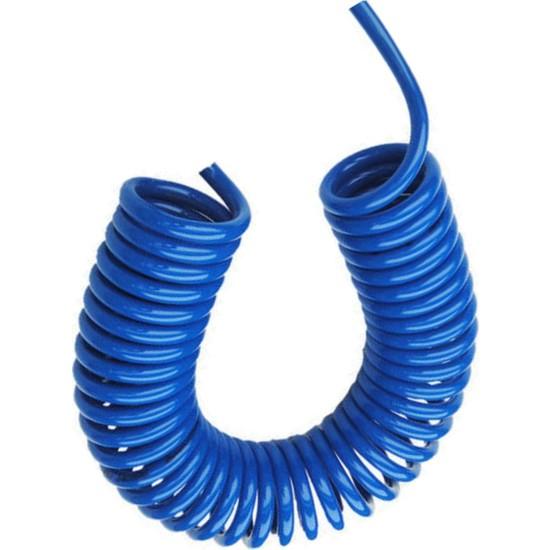 Plasyay Spiral Basınçlı Kompresör Hava Hortumu 8X14 mm - 1.5 M