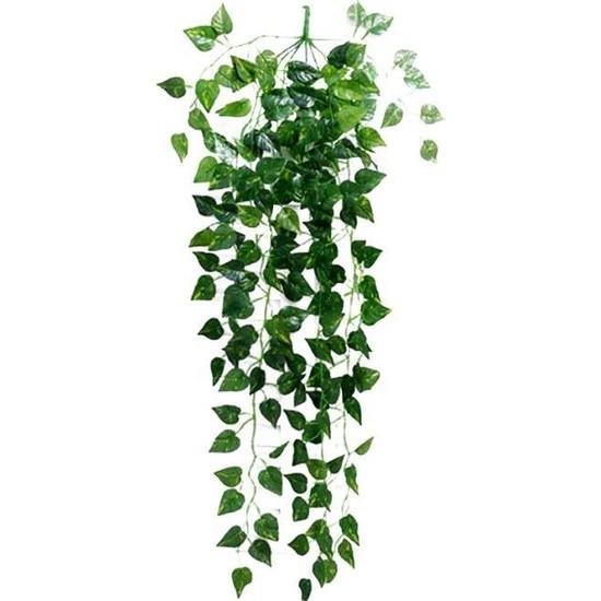 Nettenevime Yapay Çiçek 9 Dallı Sarkan Sarmaşık Sarı Yeşil