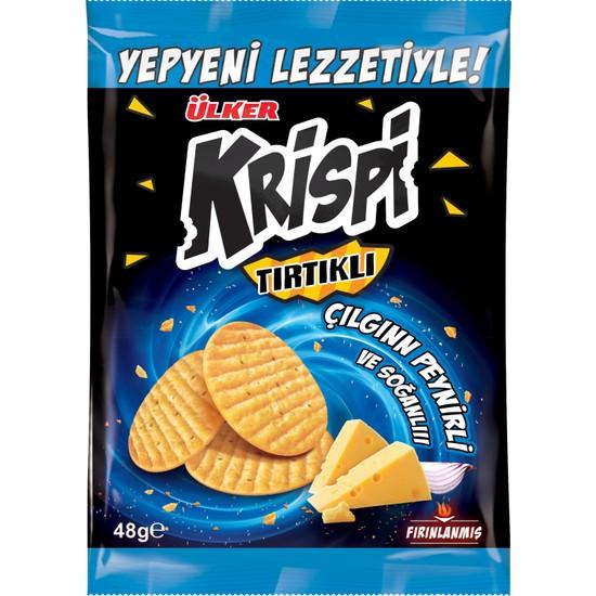 Ülker Krispi Tırtıklı Peynirli&Soğanlı Kraker 48 gr