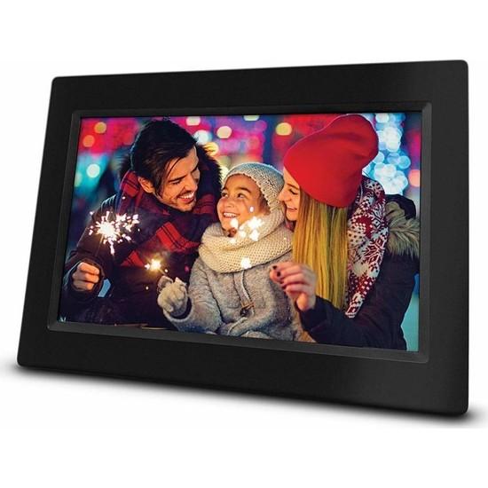 "Sezy 10"" LCD Ekran Dijital Fotoğraf Çerçevesi Video + Mp3"