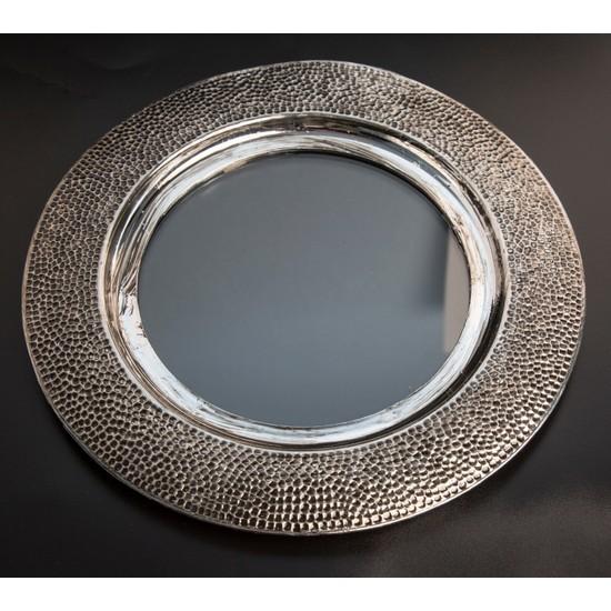 Aslı Gold Dövme Modeli Amerikan Servis Eskitme Gümüş Rengi Supla 6'lı