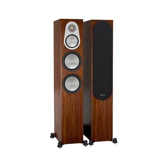 Monitor Audio Silver 300 Kule Tipi Hoparlör Çift Walnut