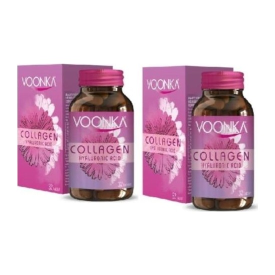 Voonka Collagen Beauty Hyaluronic Acid x 2