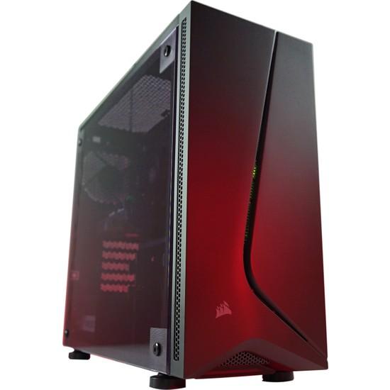 GamingTech Ulmor X V.2 Intel i5 9400F 16GB 240GB SSD RX 580 FreeDOS Masaüstü Bilgisayar