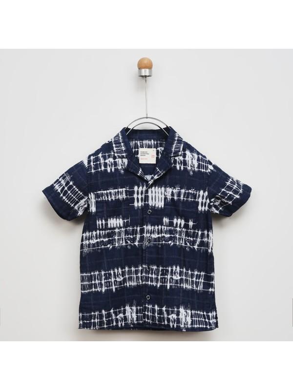 Panço Erkek Çocuk Kısa Kollu Gömlek