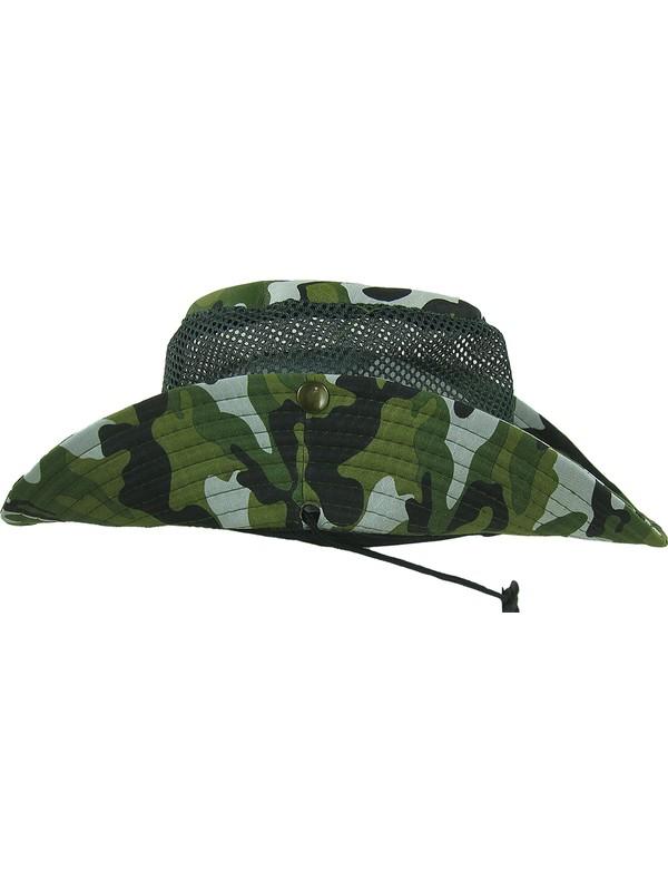 Horizon Av Usa Country Şapka-Şapka 016 Country Fileli Kamuflaj