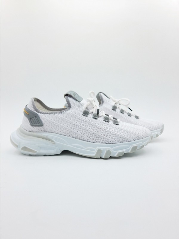 Nbn Trio Model Beyaz-Gri Günlük Spor Ayakkabı