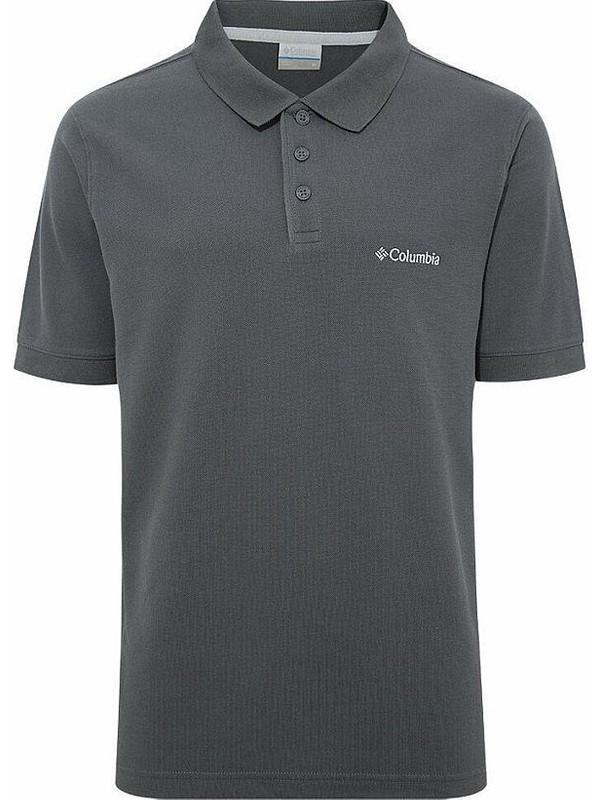 Columbia Cascade Range Solid Polo Yaka Erkek T-shirt CS0084-011