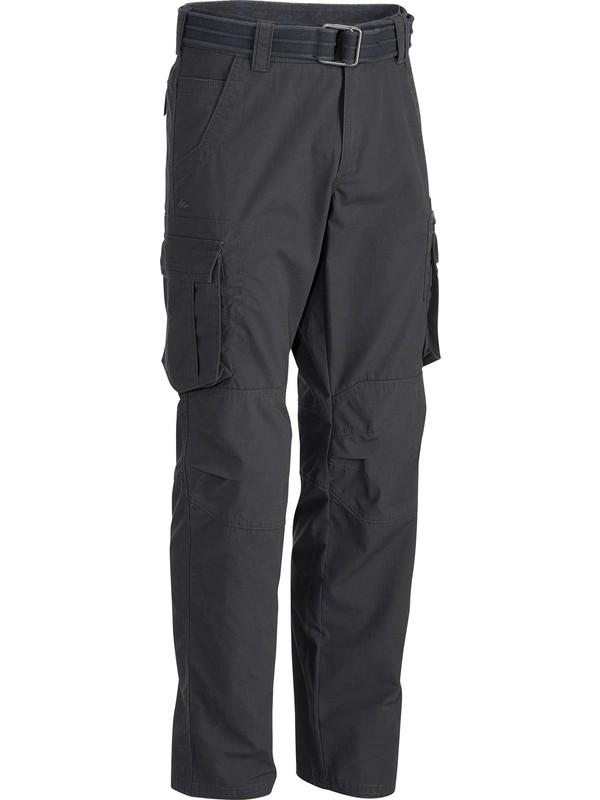 Forclaz By Decathlon Erkek Pantolon - Gri - Travel 100