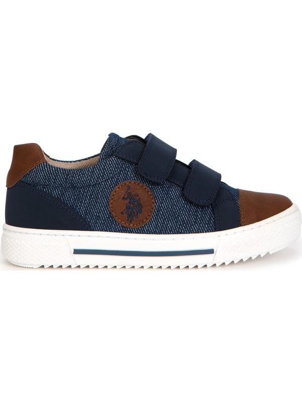 U.S. Polo Assn. Erkek Çocuk Mavi Ayakkabı 50228188-VR018