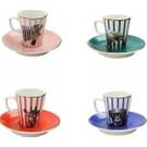 Porland Wild Life Kahve Fincan Takımı