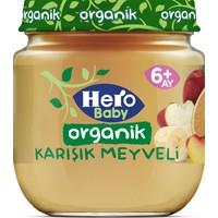 Hero Baby Organik Karışık Meyveli Püresi Kavanoz Mama 120g