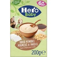 Hero Baby Sütlü 8 Tahıllı Peynirli Pekmezli Kaşık Mama 200g