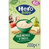 Hero Baby Sütlü 8 Tahıllı Meyveli Kaşık Mama 200g