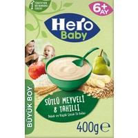 Hero Baby Sütlü 8 Tahıllı Meyveli Kaşık Mama 400g