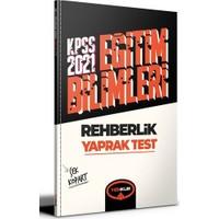 Yediiklim Yayınları 2021 Kpss Eğitim Bilimleri Rehberlik Çek Kopart Yaprak Test