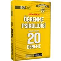 Pegem Akademi KPSS 2021 Eğitim Bilimleri Öğrenme Psikolojisi Tamamı Çözümlü 20 Deneme