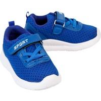 Sport Erkek Çocuk Spor Ayakkabı 21-25 Numara Saks Mavisi