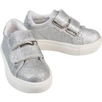 Civil Kız Çocuk Spor Ayakkabı 22-30 Numara Gümüş