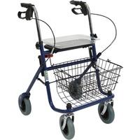 Loco PR-882 4 Tekerlekli Sepetli Yürüteç / Rollator
