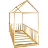 Ürün Şehri Montessori Yatak Doğal Ahşap Çocuk YATAK-CMY009