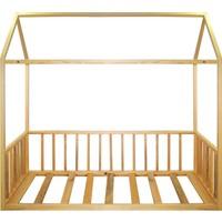 Ürün Şehri Montessori Yatak Doğal Ahşap Çocuk YATAK-CMY002