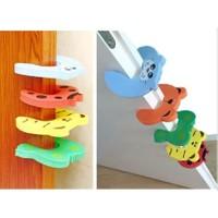 Cmt Çocuk Resimli Koruyucu Kapı Stoperi Kapı Çarpma Önleyici 4 Lü Set