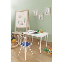 Evdemo Çocuk Masa Sandalye Takımı Mavi