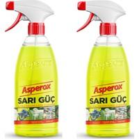 Asperox Sarı Güç Çok Amaçlı Ultra Yağ Çözücü 1000 ml x 2 Adet
