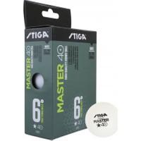 Stiga Master 6lı Masa Tenisi Pinpon Topu Beyaz (1111-2410)