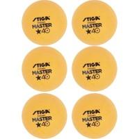 Stiga Master 6lı Masa Tenisi Pinpon Topu Turuncu (1112-2303)