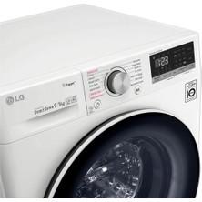 LG F4R5VGW0W 9 Kg Yıkama / 5 Kg Kurutma 1400 Devir Çamaşır Makinesi