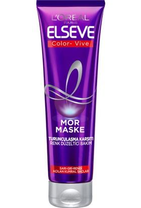 L'oréal Paris Elseve Turunculaşma Karşıtı Mor Maske 150 ml