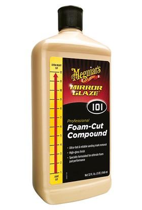 M10132 Mirror Glaze® Foam-Cut Compound Çizik Çıkarıcı Pasta 946 ML.