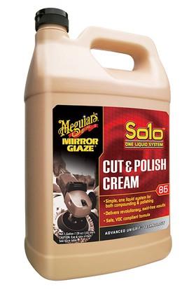 M86 Mirror Glaze® Solo™ Cut & Polish Cream Hızlı Pasta & Cila Kremi 3,79 Lt.