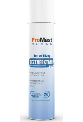 Promast Clean El ve Cilt Dezenfektanı %70 Alkollü 100 ml + Yer ve Yüzey Temizleyici 300 ml