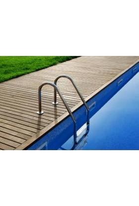 Muro Standart Tip 2 Basamaklı Aısı 304 Paslanmaz Çelik Havuz Merdiveni