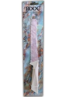 Rooc 34 cm Ekmek Bıçağı Beyaz