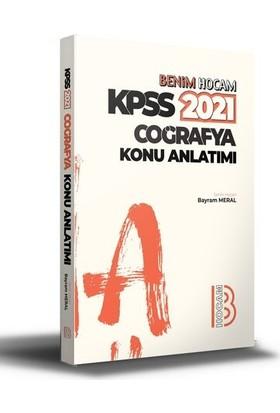 Benim Hocam Yayınları 2021 Kpss Coğrafya Konu Anlatımı - Bayram Meral
