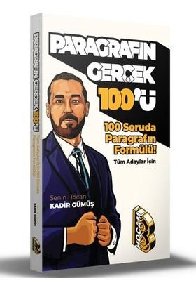 Benim Hocam Yayınları 100 Soruda Paragrafın Formülü - Paragrafın Gerçek Yüzü - Kadir Gümüş