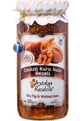 Antalya Reçelcisi Cevizli Kuru İncir Reçeli %65 Meyve Gurme Serisi