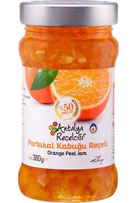 Antalya Reçelcisi Portakal Kabuğu Reçeli %50 Meyve Klasik Seri 380 Gr