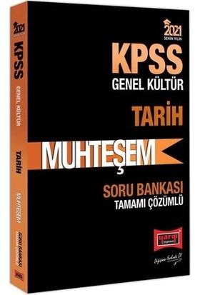 Yargı Yayınları 2021 Kpss Muhteşem Tarih Tamamı Çözümlü Soru Bankası
