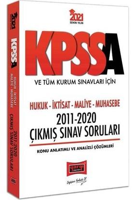 Yargı Yayınları 2021 Kpss A Grubu Ve Tüm Kurum Sınavları İçin Hukuk-İktisat-Maliye-Muhasebe2011-2020Çıkmış Sınav Soruları
