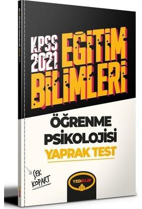 Yediiklim Yayınları 2021 Kpss Eğitim Bilimleri Öğrenme Psikolojisi Çek Kopart Yaprak Test